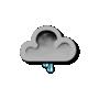 Previsió nit: Pluja dèbil