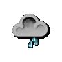 Previsió meteorològica del dia 30/03/2017: Pluja moderada