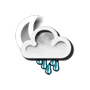 Previsió nit: Pluja