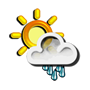 Previsió meteorològica del dia 27/03/2018: Ruixats dispersos