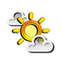Previsió meteorològica del dia 25/04/2018: Cobert de núvols alts