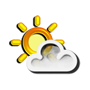 Previsió meteorològica del dia 23/06/2018: Nuvolositat variable