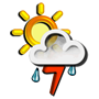 Previsió meteorològica del dia 30/03/2017: Tempestes aïllades