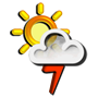 Previsió meteorològica del dia 16/12/2017: Possibilitat de tempestes
