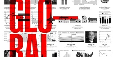 "Fragment del premiat infogràfic ""Global Warning""."