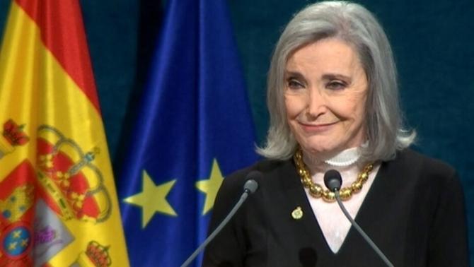 Núria Espert rep el premi Princesa d'Astúries de les Arts