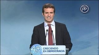 El PP diu que confia poc en la compareixença de Puigdemont al Senat i el 155 està en marxa