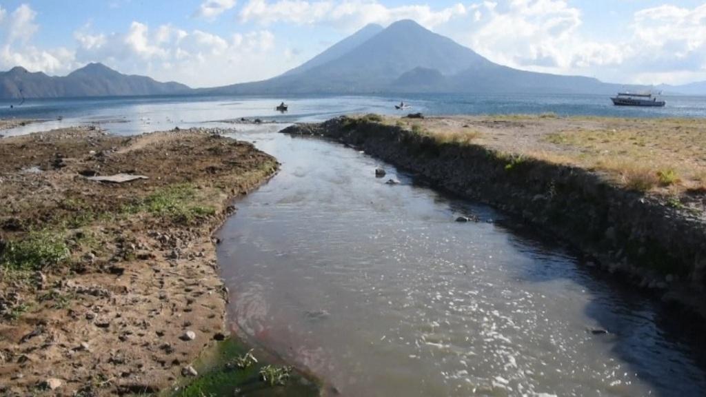 El llac d'Atitlan de Guatemala (AFP)