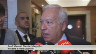 Margallo compara el cas català amb les colònies
