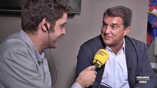 """Joan Laporta: """"El Barça no ha estat a l'alçada amb Messi"""""""