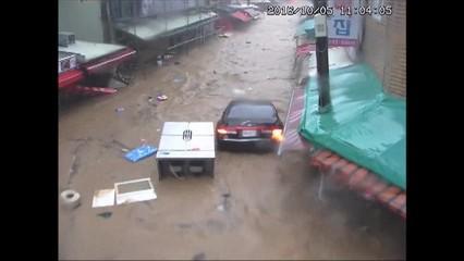 El tifó Chaba fa cinc morts i grans destroses a Corea del Sud