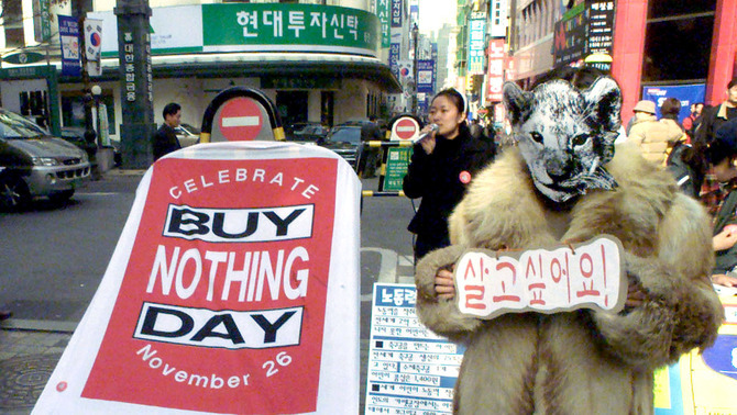 El Buy Nothing Day, l'alternativa al Black Friday