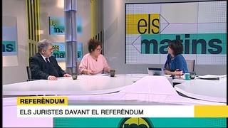 Josep Joan Moreso i Mercè Barceló: dos juristes debaten sobre la forma legal de convocar un referèndum