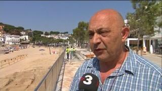 Hotels i restaurants de Llafranc denuncien pèrdues per les obres del passeig
