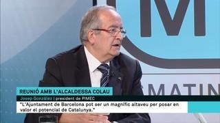 """Josep González: """"Les coses no es poden arreglar a base de vagues"""""""