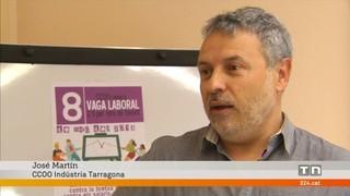 CCOO a Tarragona denuncia coaccions per la vaga del 8M