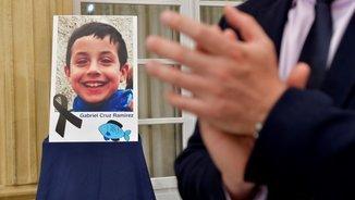 Una imatge de Gabriel Cruz en l'homenatge a la Diputació d'Almeria (EFE)