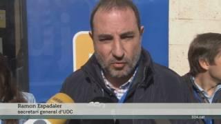 Ramon Espadaler descarta la suspensió de l'autonomia