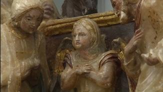Les peces de Sixena es reparteixen entre el MNAC i el Museu de Lleida