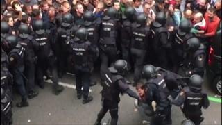 Il·lusió i violència a parts iguals en les votacions a la ciutat de Barcelona