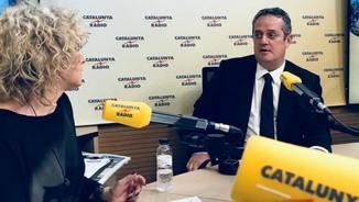 Joaquim Forn, conseller d'Interior, entrevistat el 16 d'octubre del 2017