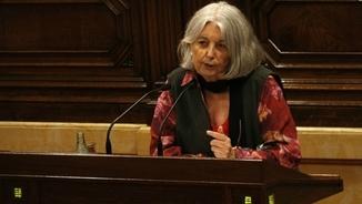"""Àngels Martínez Castells: """"Pablo Iglesias ens va dir que reséssim perquè no hi hagués referèndum"""""""