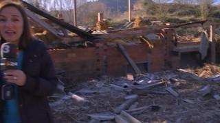 La uralita de les teulades que va volar per les ventades, nou problema ambiental a Cardona i l'Alt Empordà