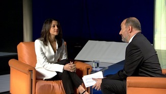 Inés Arrimadas i Vicent Sanchis