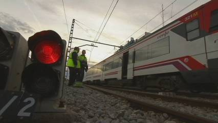 Tres accidents ferroviaris en només un mes