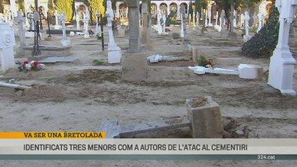 Els desperfectes a les creus de Castellserà els van fer adol·lescents