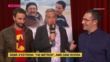 "Dani Rovira i Ramón Arroyo parlen de ""100 metros"" amb Toni Puntí"
