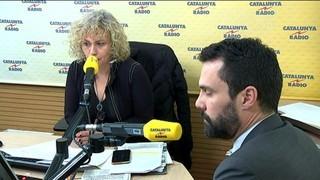 """Roger Torrent: """"Seria una barbaritat democràtica que Jordi Turull no pogués formar govern"""""""