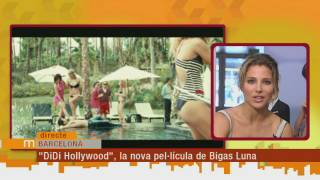 "Bigas Luna i Elsa Pataky ens presenten ""Di Di Hollywood"""