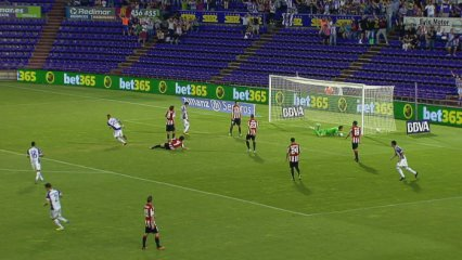 Valladolid, 1 - Athletic, 2