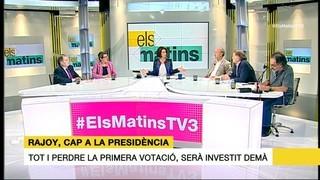 Tertúlia 28/10/2016 (1/2) sobre la investidura, com es preveu la legislatura i les relacions Espanya-Catalunya