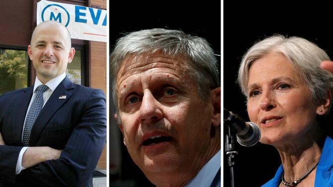 Els altres candidats de les eleccions dels Estats Units