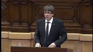 """Jordi Matas: """"La Declaració d'Independència de Puigdemont ha agradat a la comunitat internacional"""""""