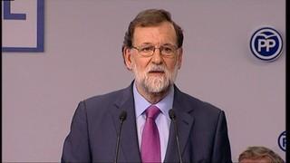 Rajoy adverteix que el 155 es mantindrà si Puigdemont és investit telemàticament