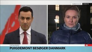 La premsa danesa es bolca per la visita de Puigdemont