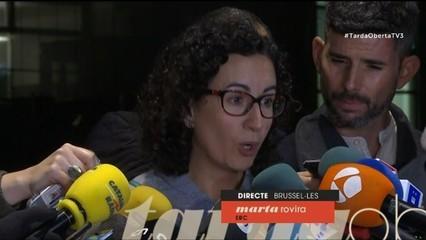 "Marta Rovira: ""Farem un front comú a nivell polític"""