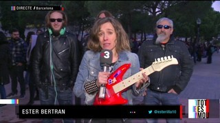"""Air guitar"" de Metallica, al ""Tot es mou"""