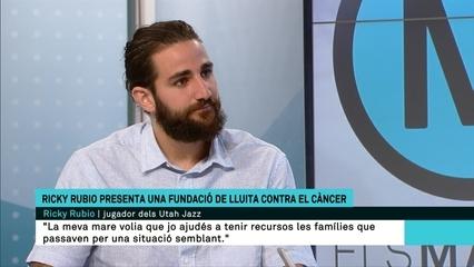 """Ricky Rubio (NBA): """"Amb la fundació volem ajudar malalts de càncer i impulsar projectes d'inclusió amb l'esport"""""""