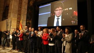 Acte solemne de presentació del Consell per la República (ACN)