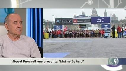 """Miquel Pucurull: """"Corro per allunyar els problemes de l'edat, i me n'estic sortint"""""""