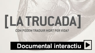 "Coordina un trasplantament d'òrgan, al documental interactiu ""La trucada"""