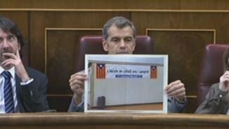 Ciutadans es queda sol al Congrés amb la denúncia d'adoctrinament a les escoles catalanes