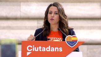 Inés Arrimadas acusa el govern Puigdemont d'haver-se carregat l'autogovern de Catalunya