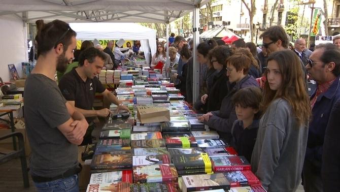 Els llibreters esperen superar l'1,6 milions de llibres venuts l'any passat