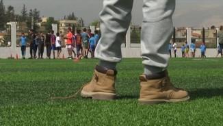 Integrar infants refugiats al Líban a través del futbol, l'objectiu de la Fundació del Barça