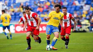 Las Palmas, 1 - Girona, 2. La segona part